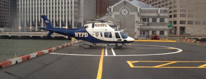 Downtown Manhattan Heliport is one of Visited Airports around the world.