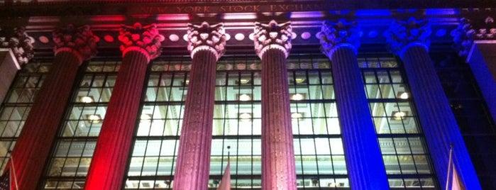 New York Stock Exchange is one of New York City.