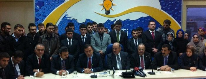 Ak Parti Çorum İl Başkanlığı is one of Alper'in Beğendiği Mekanlar.