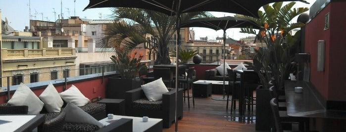 Hotel Villa Emilia is one of Terrazas Barcelona.