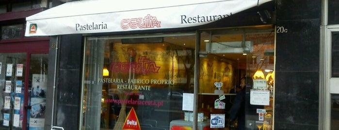 Pastelaria Ceuta is one of Tempat yang Disimpan MENU.