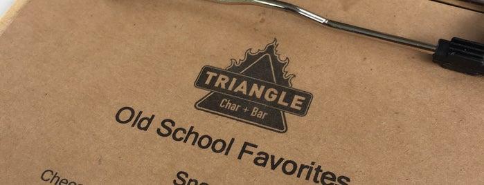Triangle  Char + Bar is one of Tempat yang Disukai Ilse.