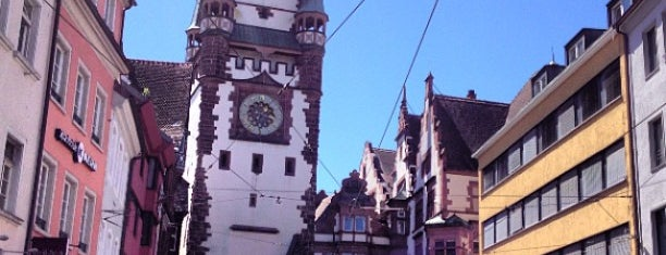 Martinstor is one of Freiburg.
