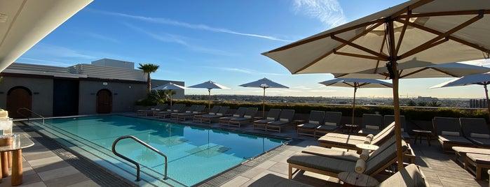 Santa Monica Proper Hotel is one of Ryan'ın Beğendiği Mekanlar.