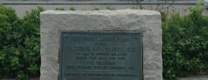 Pilgrims' First Landing Park is one of Provincetown, MA.