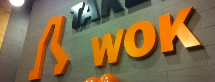 Take a Wok is one of Veggie Santiago (Santiago Vegetariano y Vegano).
