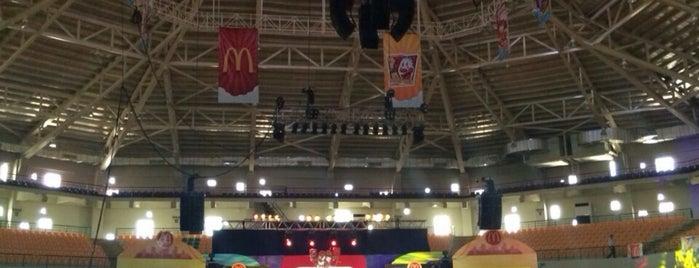Alonte Sports Arena is one of Lugares favoritos de Yen P..
