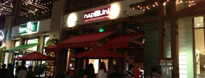 Napolini Pizzeria is one of Disneyland.