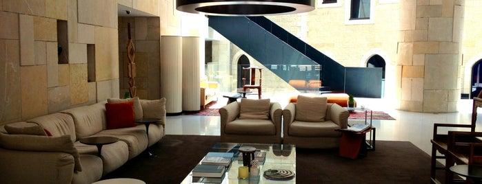 Mamilla Hotel מלון ממילא is one of Design Hotels.
