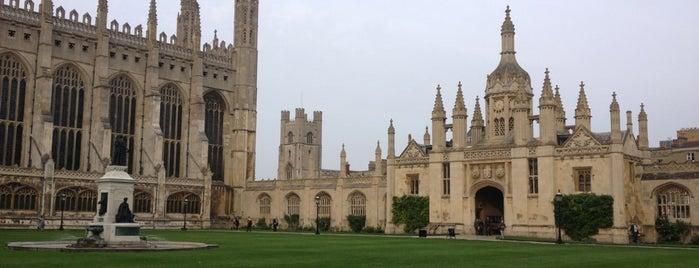 มหาวิทยาลัยเคมบริดจ์ is one of EDUCATION · University.