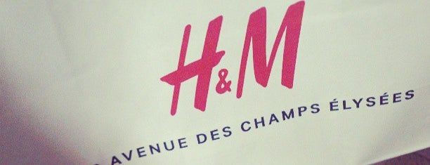 H&M is one of Essential shopping in Paris.