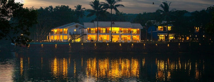 Cyrus Todiwala's The River Restaurant is one of CN Goa 50.