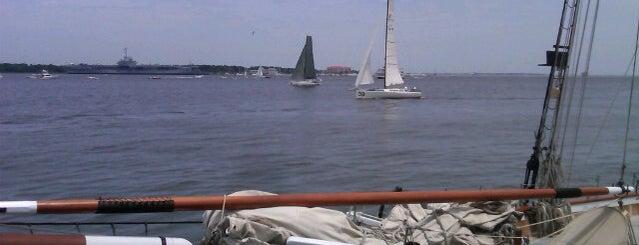 Charleston Harbor is one of Do: Charleston ☑️.