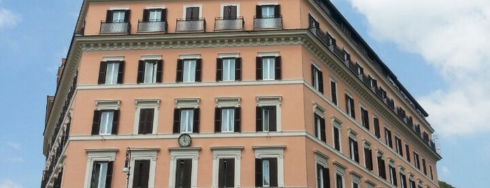 Hotel Eden is one of Rome.