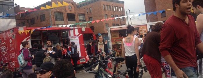 Food trucks Bogotá! is one of Analucia: сохраненные места.