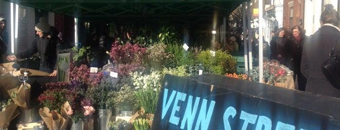 Venn Street Market is one of London Markets & Food Stalls.