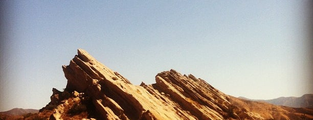 Vasquez Rocks Park is one of LA spots.