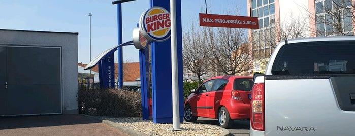 Burger King is one of Székesfehérvár.