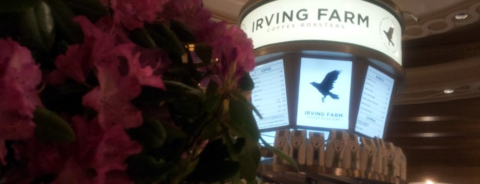 Irving Farm Coffee Roasters is one of USA NYC MAN Midtown East.