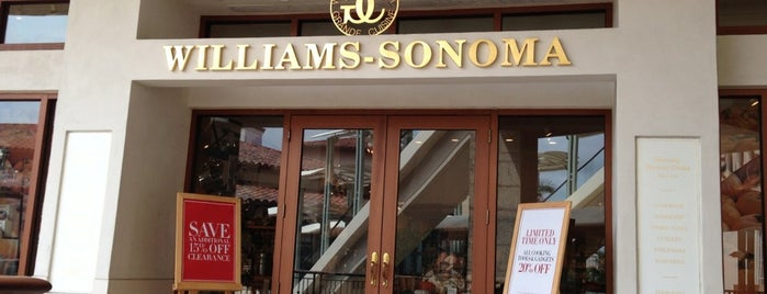 Williams-Sonoma is one of Locais curtidos por Diego.