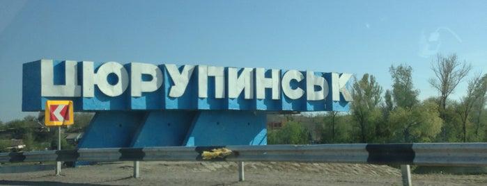 Олешківський міст is one of สถานที่ที่ Anna ถูกใจ.