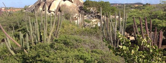 Casibari Rock Formation is one of Aruba.