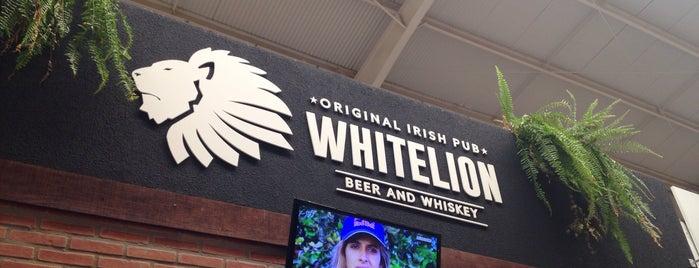 Whitelion Irish Pub is one of Tempat yang Disukai Tiago.