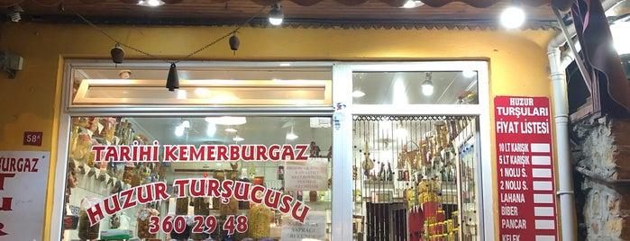 Tarihi Huzur Turşucusu is one of Orte, die Burcu gefallen.