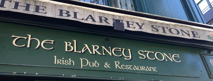 The Blarney Stone is one of Where to drink a good beer.