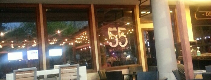 55 Bar and Restaurant is one of Houston Drink Spots.