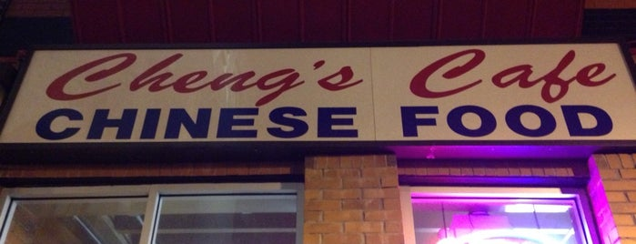 Chang's Cafe Chinese Food is one of Lugares favoritos de Wayne.