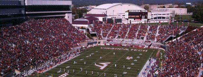 Lane Stadium/Worsham Field is one of Sporting Venues To Visit.....