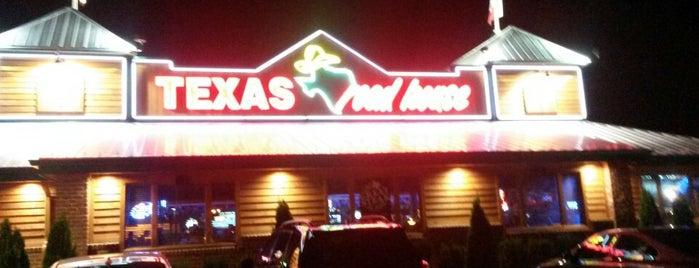 Texas Roadhouse is one of Posti che sono piaciuti a Nicholas.