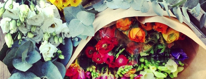 Columbia Road Flower Market is one of Best of London.