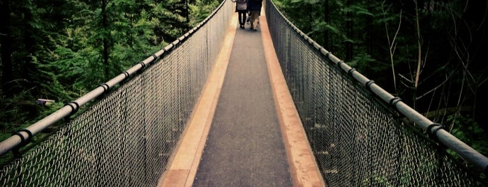 Capilano Suspension Bridge is one of Vancouverite - Best Places In and Around Vancouver.