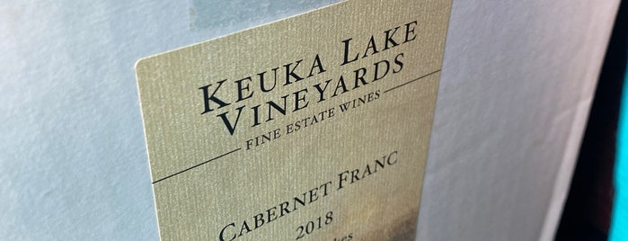 Keuka Lake Vineyards is one of Finger Lakes Wine Trail & Some.