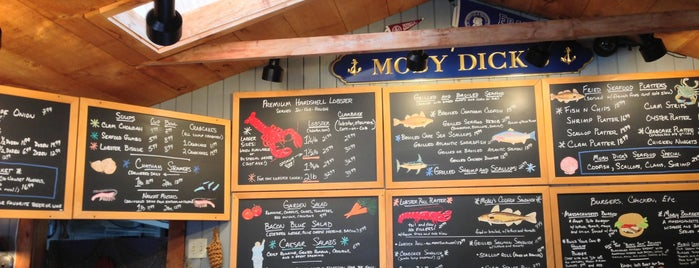 Moby Dick's is one of Cape Cod.