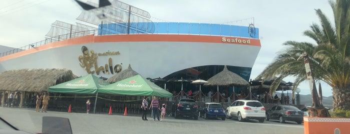 Chilos - El Barco De Chilo is one of สถานที่ที่ Jorge ถูกใจ.