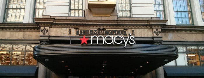 Macy's is one of New York the definitive list.