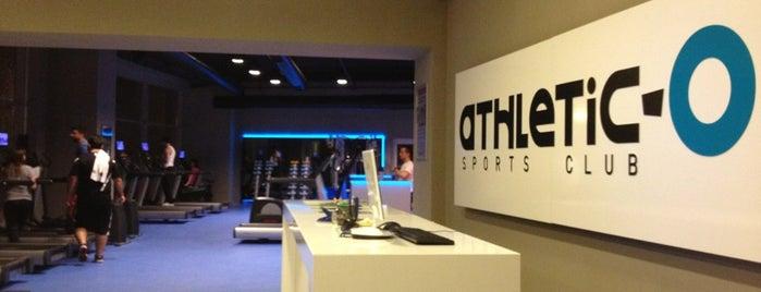 Athletic-o Sports Club is one of Posti salvati di Serkan.