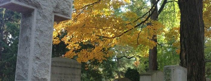 Mount Auburn Cemetery is one of Boston.