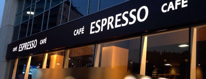 Café Espresso is one of Terrazas2.
