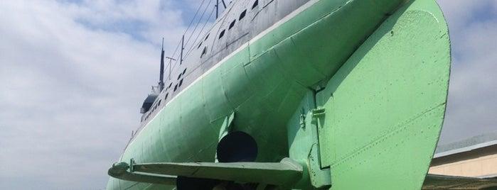 Музей подводной лодки Д-2 «Народоволец» is one of СПб — музеи и интересные места.