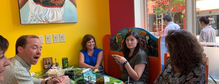 Xcaret Mexican Grill & Cantina is one of สถานที่ที่บันทึกไว้ของ Ben.