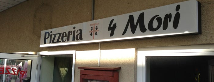 Pizzeria Quattro Mori is one of Gespeicherte Orte von Julia.