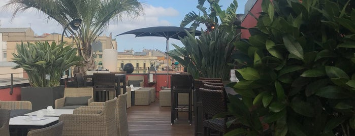 La terraza del Hotel Villa Emilia is one of Barcelona | Food & Drinks.