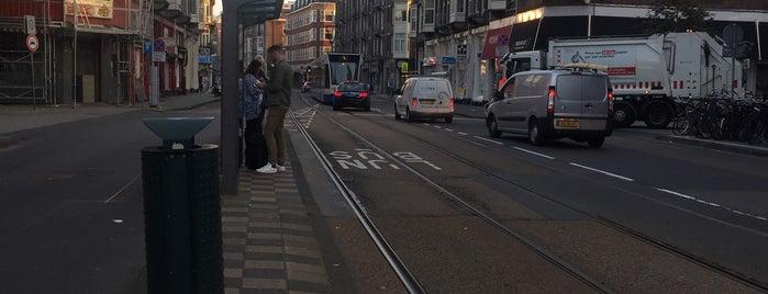 Tramhalte Lutmastraat is one of Alle tramhaltes van Amsterdam.