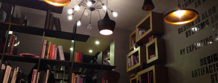 Tasarım Bookshop Cafe is one of The Best Places for Reading and Working in Ist.