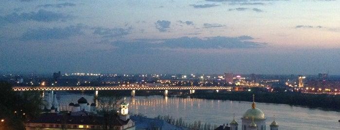 Верхневолжская набережная is one of Нижний Новгород.