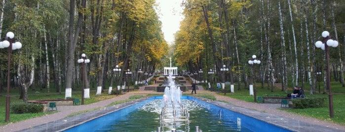 ПКиО «Берёзовая роща» is one of LISA 님이 좋아한 장소.